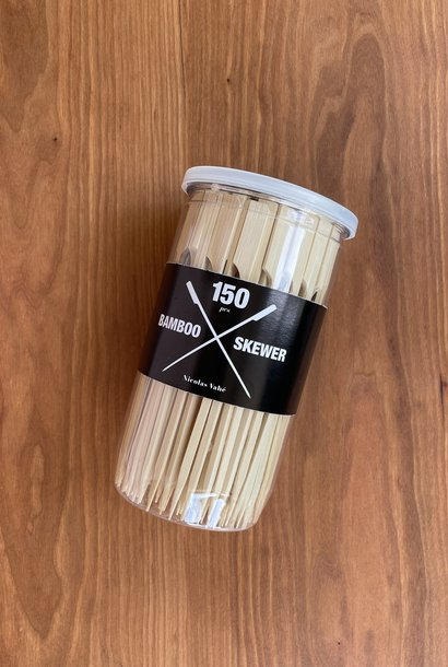 Nicolas Vahe Bamboo Skewers, 150 Pieces