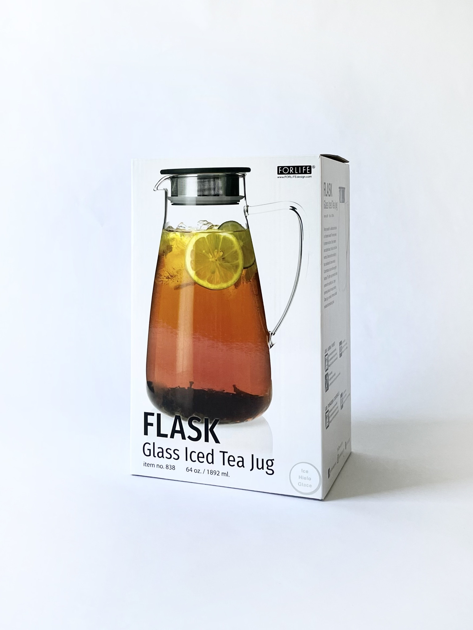 For Life Flask Iced Tea Jug, 64 oz.-1