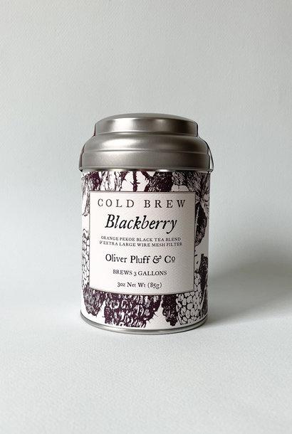 Oliver Pluff Blackberry Cold Brew Tea