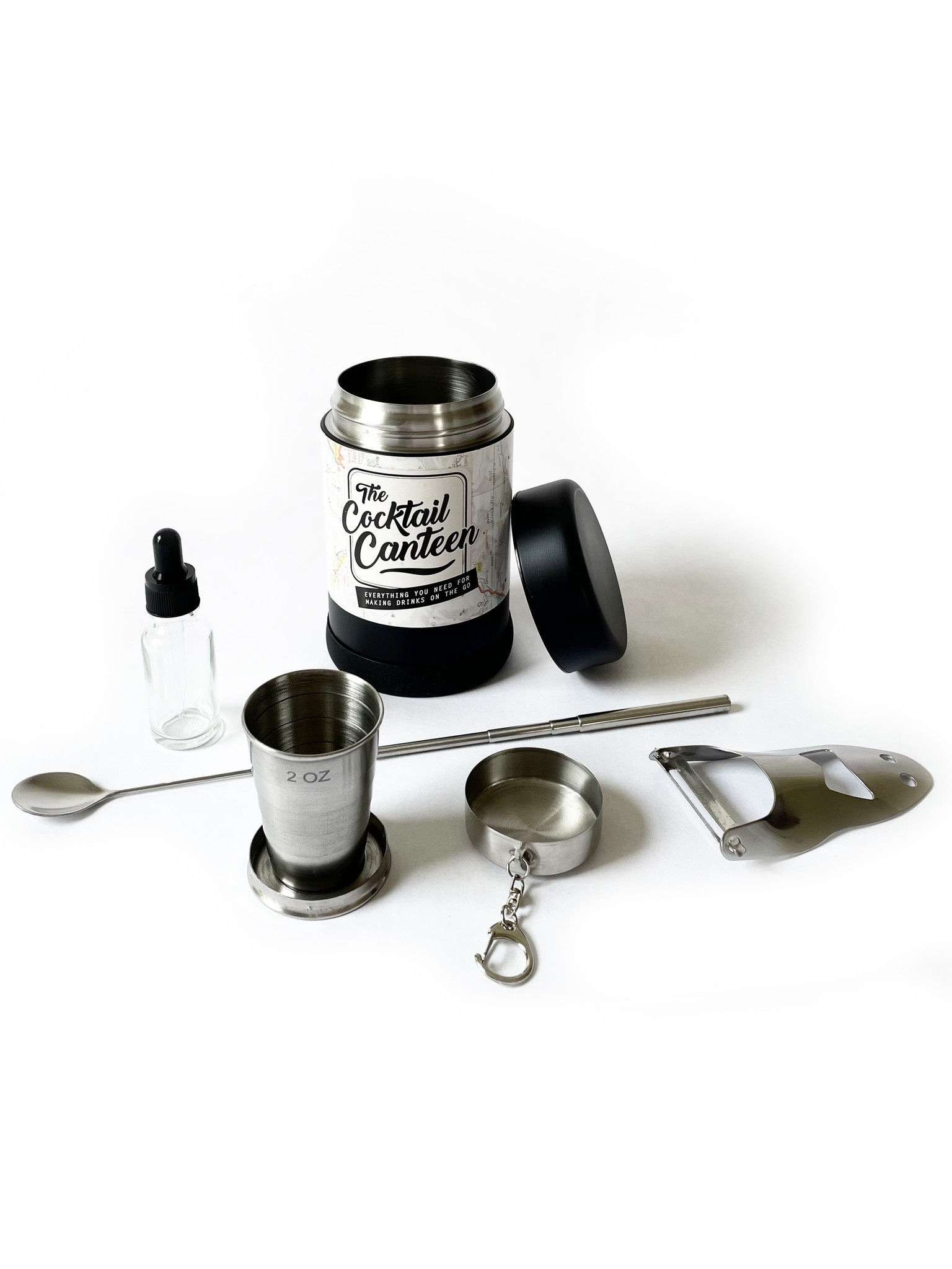 W & P The Cocktail Canteen Kit-2
