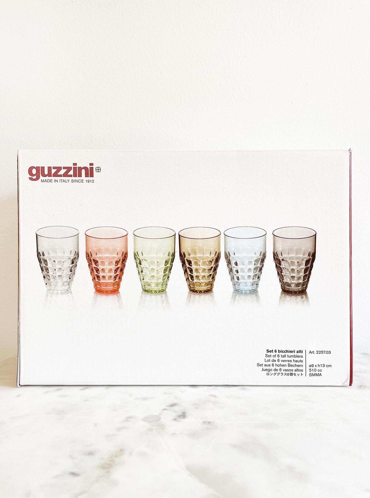 Guzzini Tiffany Tall Tumblers, Set of 6-2