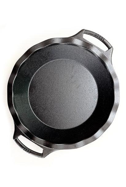 "Lodge Cast Iron Seasoned Pie Plate, 9"""