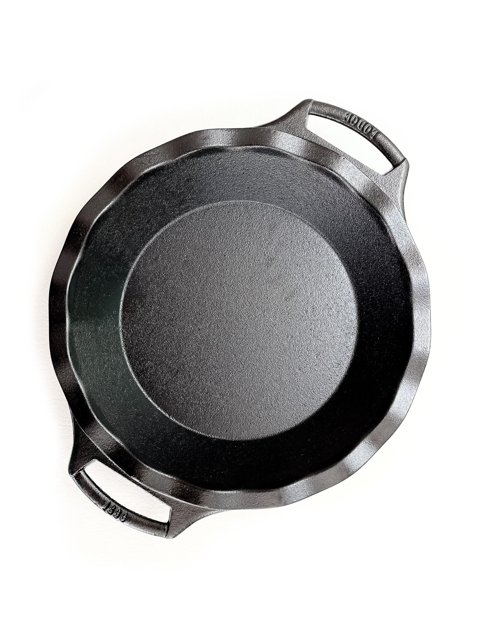 "Lodge Cast Iron Seasoned Pie Plate, 9""-1"