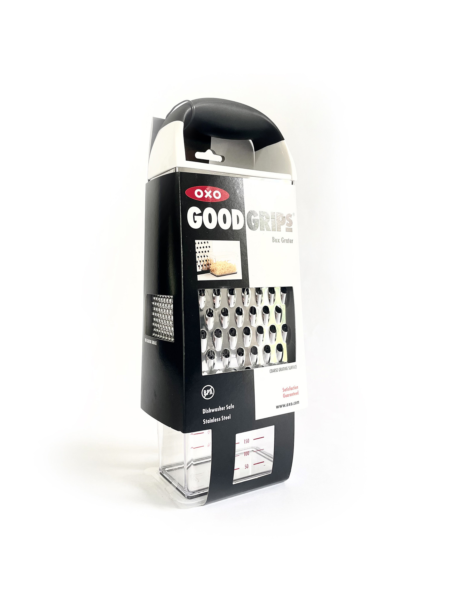 OXO Box Grater with Catchall-1