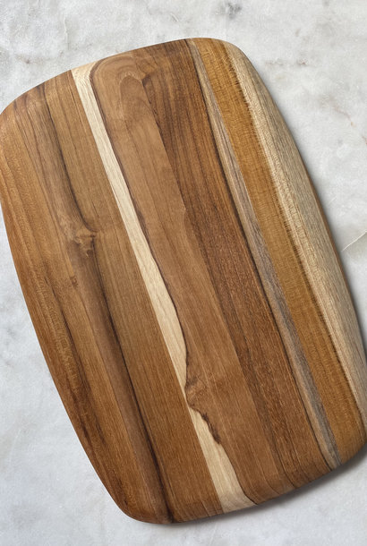 Proteak Teak Haus Oval Cutting Board with Rounded Edges