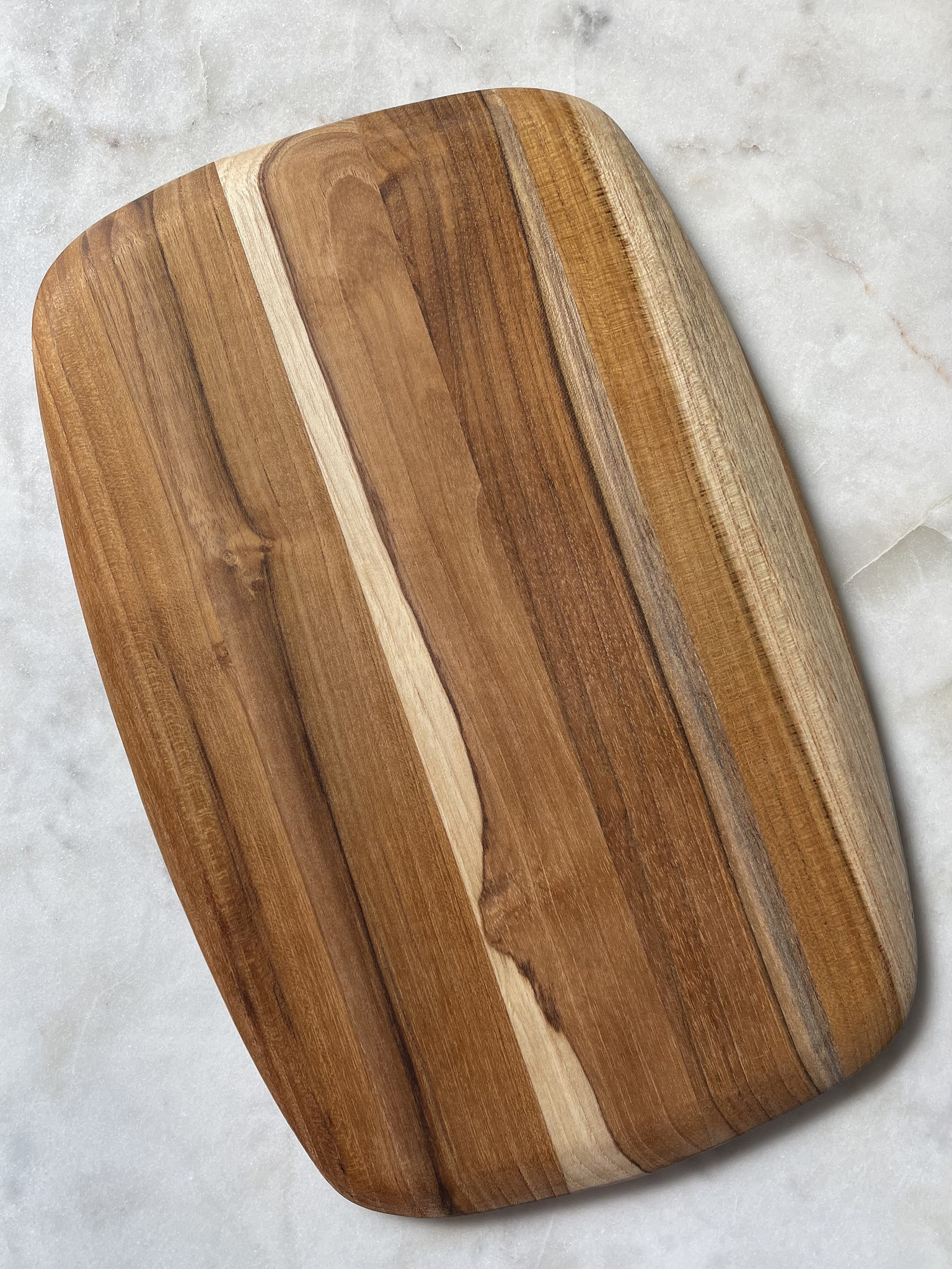 Proteak Teak Haus Oval Cutting Board with Rounded Edges-1