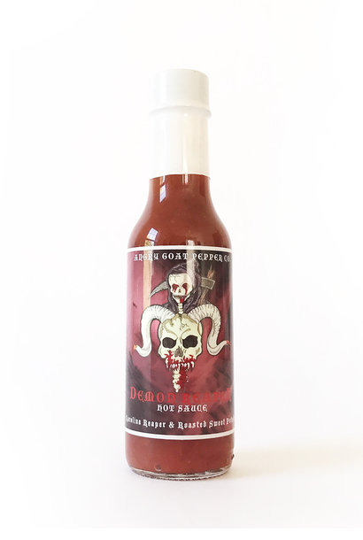 Angry Goat Pepper Co. Demon Reaper Hot Sauce