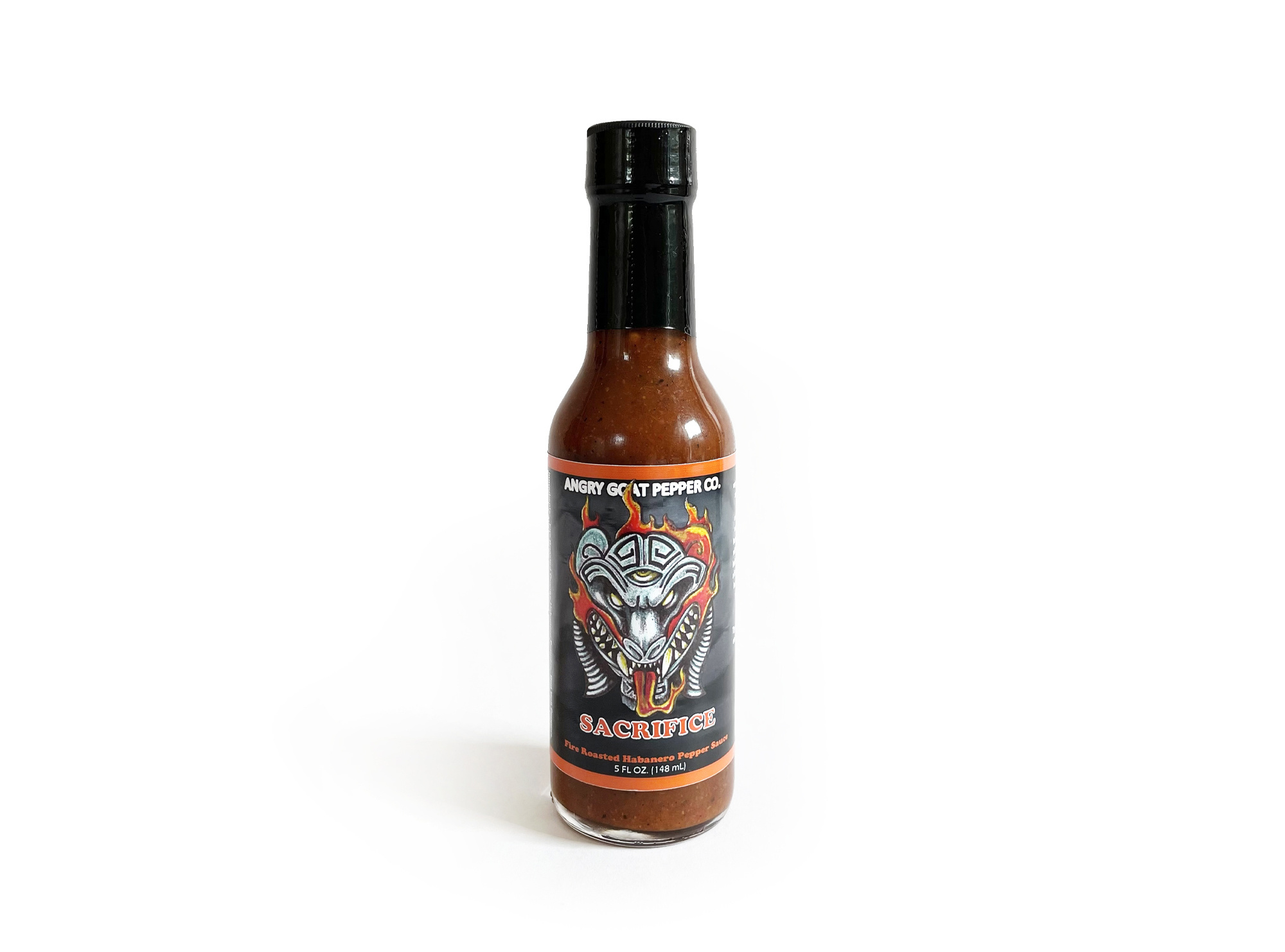 Angry Goat Pepper Co. Sacrifice Hot Sauce-1