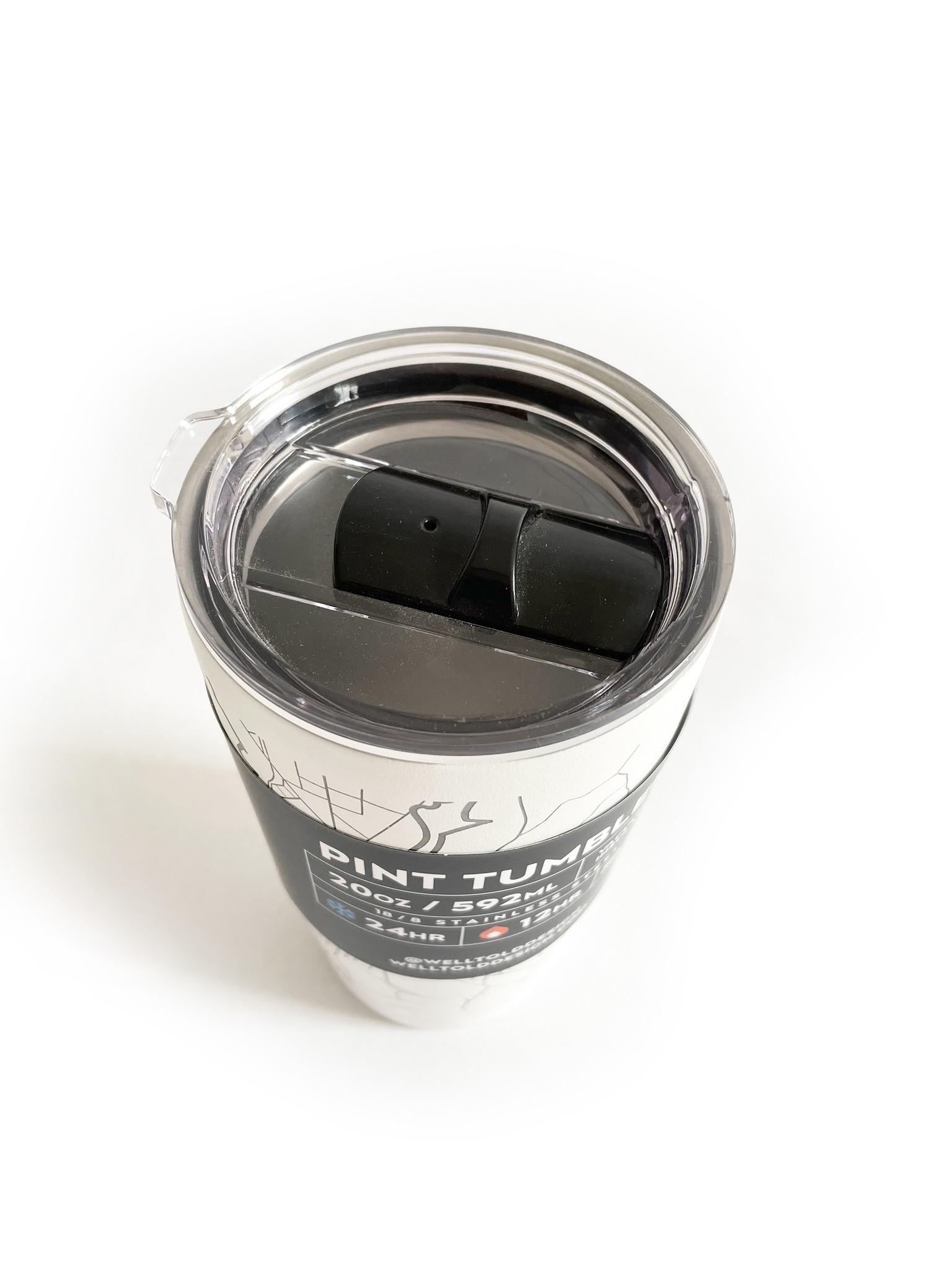 Hometown Providence White Insulated Pint Travel Mug 20 oz-2