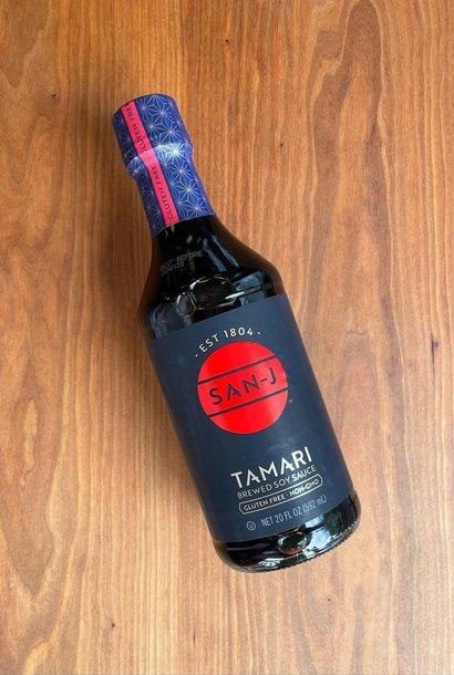 San J Tamari Soy Sauce 20 oz