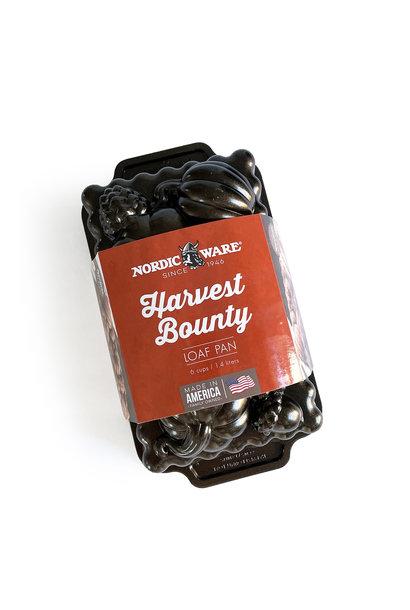 Nordic Ware Harvest Bounty Loaf Pan Bronze