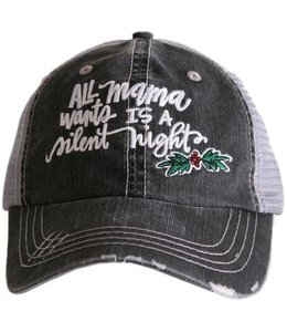 KATYDID ALL MAMA WANTS IS A SILENT NIGHT TRUCKER