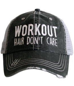 KATYDID WORKOUT HAIR TRUCKER HAT