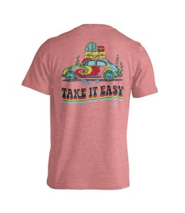 CHLOE LANE TAKE IT EASY T-SHIRT