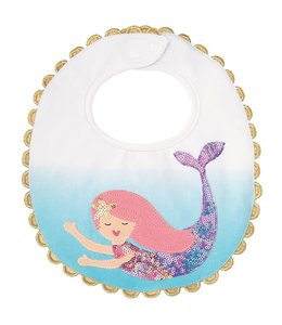 BLUE MERMAID BIB 1552367B