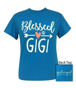 GIRLIE GIRL ORIGINALS BLESSED GIGI T-SHIRT