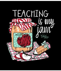 CHLOE LANE CHLOE LANE T-SHIRT TEACHER DESIGN
