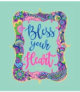 Anna Grace Tees T-SHIRT BLESS YOUR HEART