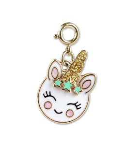 Charm It Gold Unicorn Smiley Charm CICC 1333