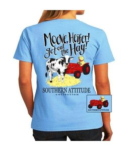 SOUTHERN ATTITUDE T-SHIRT MOVE HEIFER