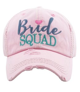 BALL CAP BRIDE SQUAD
