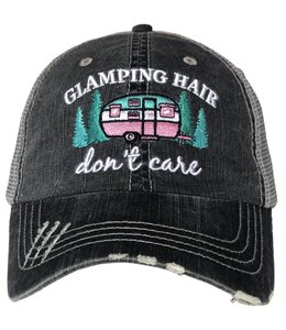 KATYDID GLAMPING HAIR DON'T CARE TRUCKER HAT