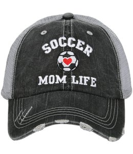 KATYDID SOCCER MOM LIFE TRUCKER HAT