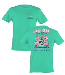 SIMPLY SOUTHERN JEEP HAIR T-SHIRT