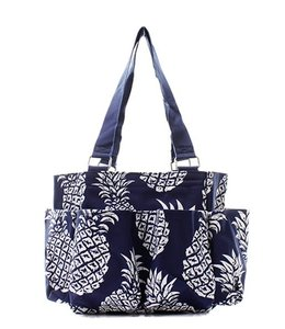 NGIL CADDY BAG PINEAPPLE NAVY NPL 903