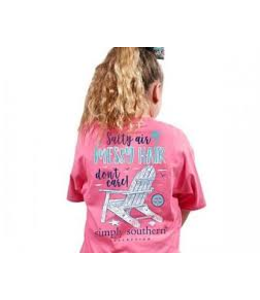 SIMPLY SOUTHERN PREPPY MESSY YOUTH T-SHIRT
