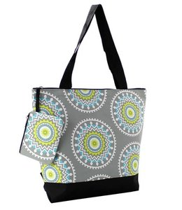 NGIL TOTE  SMALL CANVAS CHIC GARDEN ELT 821