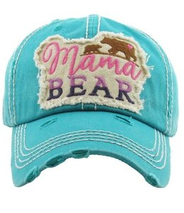 Cap Mama Bear Patch heart