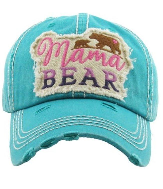 Cap Mama Bear Patch heart