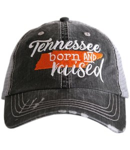 KATYDID KATYDID TENNESSEE  BORN AND RAISED TRUCKER