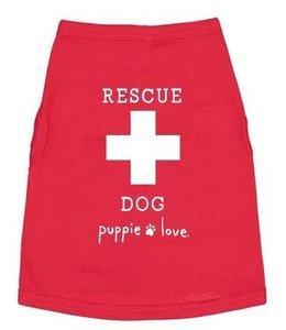 PUPPIE LOVE RESCUE DOG PUPPIE TEE