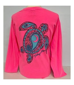 TORTUGA MOON Aqua Turtle Long Sleeve