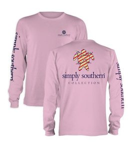SIMPLY SOUTHERN YOUTH CHRISTMAS TURTLE LONG SLEEVE