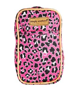 SIMPLY SOUTHERN PHONE PURSE PINK LEOPARD