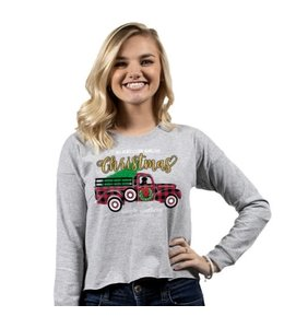 SIMPLY SOUTHERN T-SHIRT SHORTIE TRUCK LONG SLEEVE