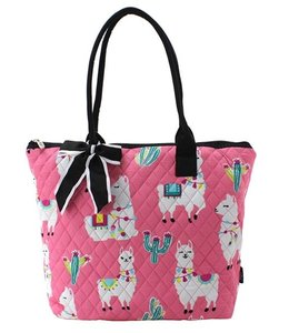 NGIL TOTE SMALL QUILTED LLAMA WORLD LMP 1515