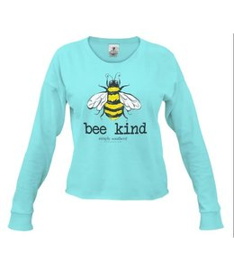 SIMPLY SOUTHERN T-SHIRT SHORTIE BEE LONG SLEEVE