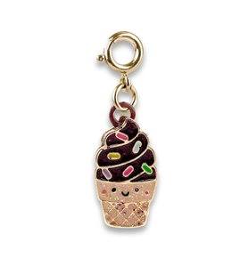 Charm It GOLD SCENTED CHOCOLATE CONE CHARM