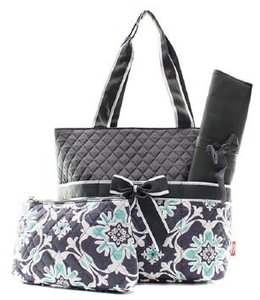 NGIL Diaper Bag Quilted Vine BLO 2121