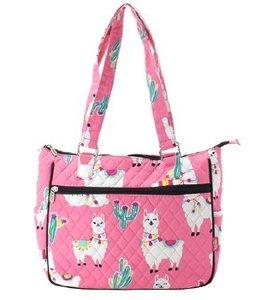 NGIL LLAMA Handbag Quilted LMP 594