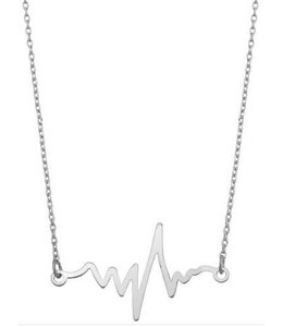 GIRLY (ACCESSORIES) NECKLACE HEART MONITOR PENDANT IN9877