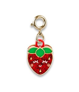 Charm It GOLD SCENTED STRAWBERRY CHARM CICC1373