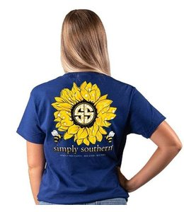 SIMPLY SOUTHERN T-SHIRT SUNFLOWER