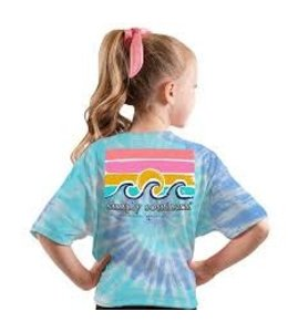 SIMPLY SOUTHERN T-SHIRT YOUTH SALTWATER