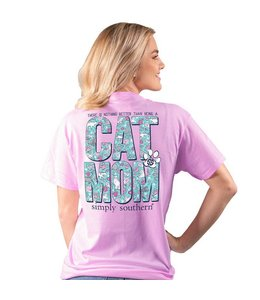 SIMPLY SOUTHERN T-SHIRT CAT MOM