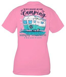 SIMPLY SOUTHERN T-SHIRT CAMPING